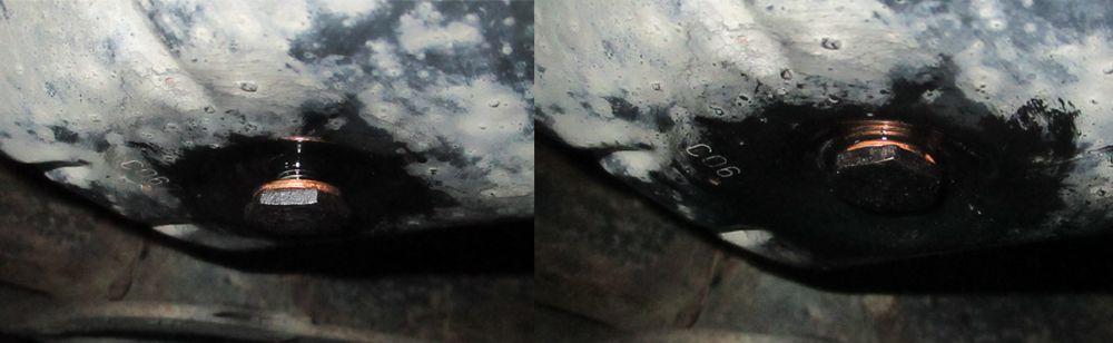 zašroubování olejové zátky 1.6hdi