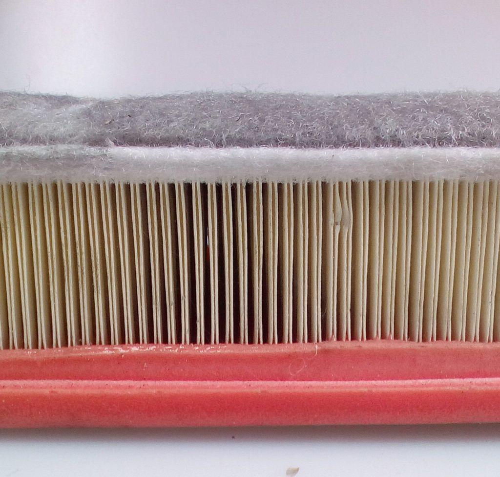 vzduchový filtr s filcem